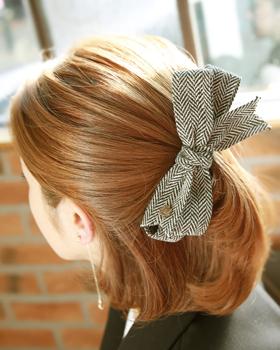 毛纺丝带发夹(hp249)