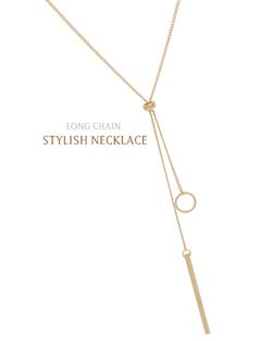 环和棒金项链(nk490)
