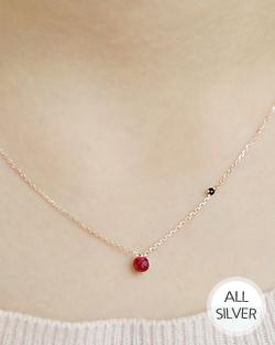 红豆项链(nk496)