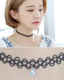 纹身石头项链(nk510)