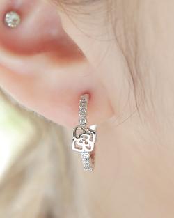玫瑰触摸媒体耳环(er1612)