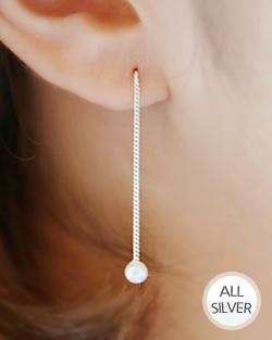 摇曳的珍珠耳环(er1584)