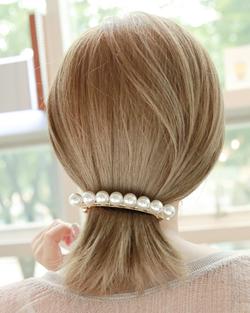 西蒙珍珠发夹(hp438)