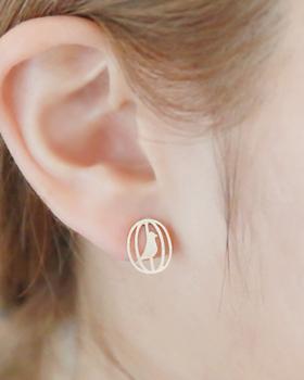 麻雀耳环(er023)