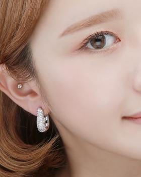 天鹅触式耳环(er1812)